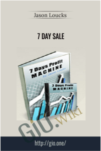 7 Day Sale – Jason Loucks
