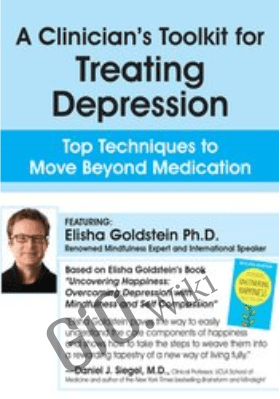 A Clinician's Toolkit for Treating Depression: Top Techniques to Move Beyond Medication - Elisha Goldstein