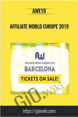 Affiliate World Europe 2019 - AWE19