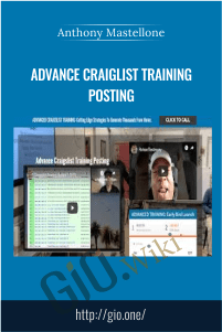 Advance Craiglist Training Posting - Kyle Mechlinski