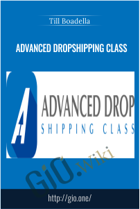 Advanced Dropshipping Class – Till Boadella