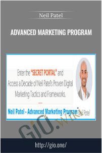 Advanced Marketing Program – Neil Patel