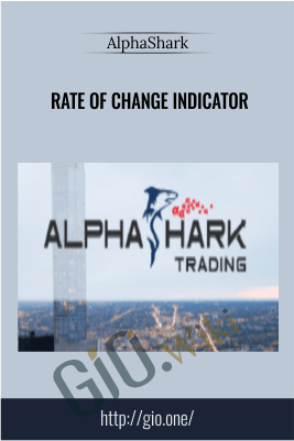 Rate of Change Indicator – AlphaShark