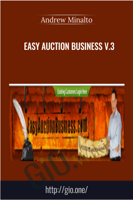 Easy Auction Business V.3 – Andrew Minalto