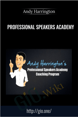 Professional Speakers Academy –  Andy Harrington
