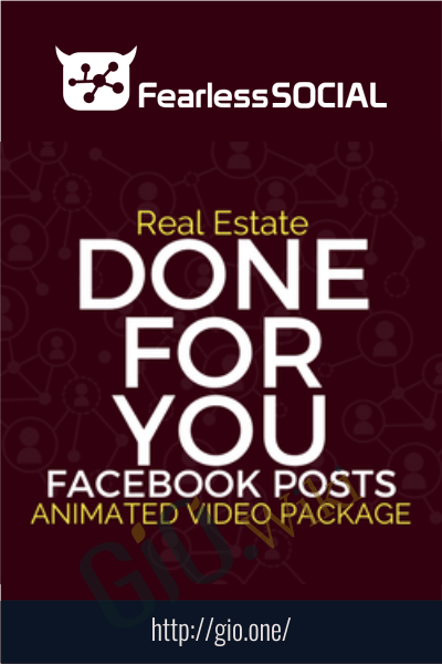 AnimatedReal Estate DFY Posts - FearLessSocial