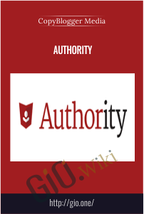Authority – CopyBlogger Media