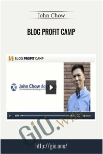 Blog Profit Camp – John Chow