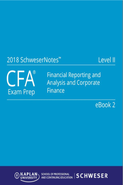 CFA 2017 Level II SchweserNotes Package - Kaplan Schweser