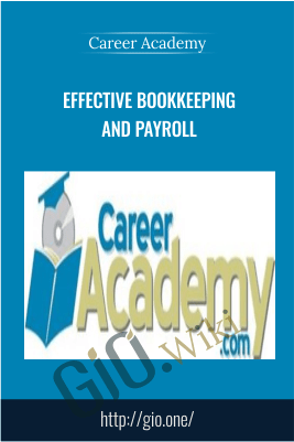 Effective Bookkeeping and Payroll – Career Academy