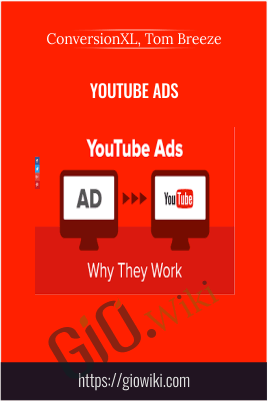 Youtube Ads - ConversionXL, Tom Breeze