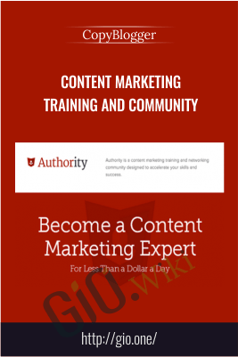 Content Marketing Training and Community – CopyBlogger