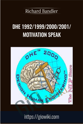 DHE 1992/1999/2000/2001/Motivation Speak - Richard Bandler