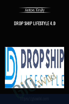 Drop ship Lifestyle 4.0 – Anton Kraly