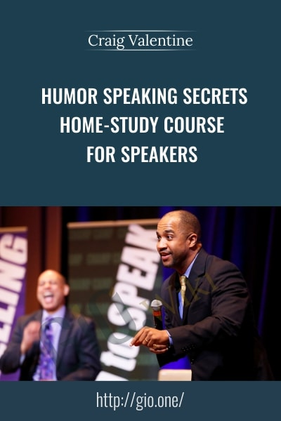 Humor Speaking Secrects - Craig Valentine