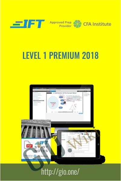 IFT's Level I Premium 2018 - CFA Institute