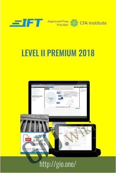 IFT's Level II Premium 2018 - CFA Institute
