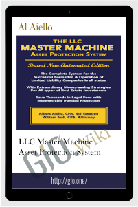 LLC Master Machine Asset Protection System - Al Aiello