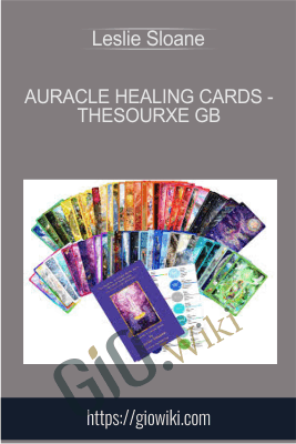 Auracle Healing Cards - TheSourxe GB - Leslie Sloane