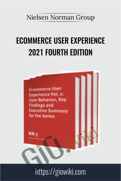Ecommerce User Experience 2021 Fourth Edition – Nielsen Norman Group