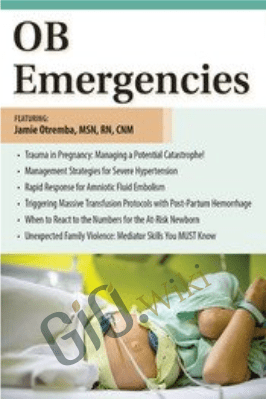 OB Emergencies - Jamie Otremba