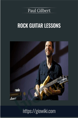 Rock Guitar Lessons - Paul GIlbert