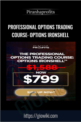 Professional Options Trading Course: Options Ironshell – Piranhaprofits