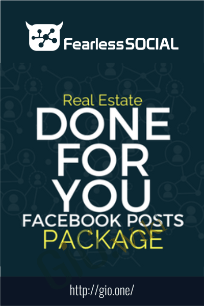 Real Estate DFY Posts - FearLessSocial