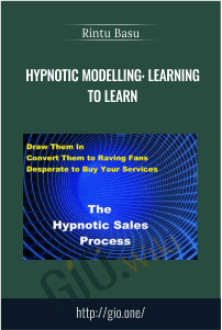 Hypnotic Modelling: Learning to Learn – Rintu Basu