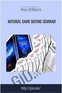 Natural Game Dating Seminar – Rion Williams