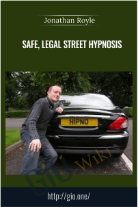 Safe, Legal Street Hypnosis – Jonathan Royle