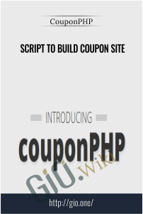 Script To Build Coupon Site – CouponPHP
