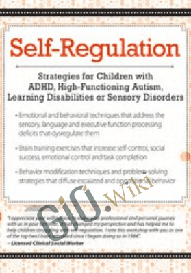 Self-Regulation Strategies for Children with ADHD, High-Functioning Autism, Learning Disabilities or Sensory Disorders - Laura Ehlert
