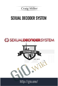 Sexual Decoder System – Craig Miller