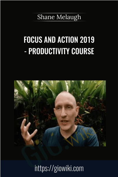 Focus and Action 2019 - Productivity course - Shane Melaugh