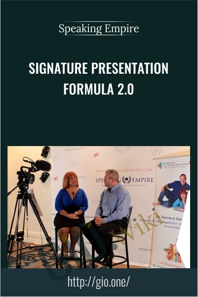 Signature Presentation Formula 2.0 - Speaking Empire