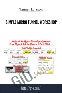 Simple Micro Funnel Workshop – Tanner Larsson