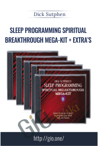 Sleep Programming Spiritual Breakthrough Mega-Kit + Extra's – Dick Sutphen