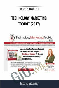 Technology Marketing Toolkit (2017) – Robin Robins