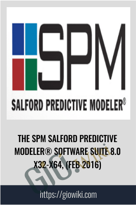 The SPM Salford Predictive Modeler® Software Suite 8.0 x32-x64, (Feb 2016)