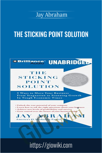The Sticking Point Solution: 9 Ways to Move Your Business From Stagnation to Stunning Growth In Tough Economic Times - Jay Abraham