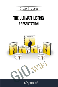 The Ultimate Listing Presentation – Craig Proctor
