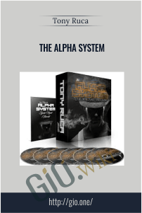 The Alpha System – Tony Ruca