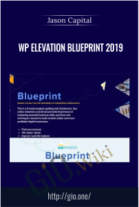 WP Elevation Blueprint 2019 – Troy Dean