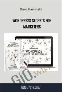 WordPress Secrets for Marketers – Dave Kaminski