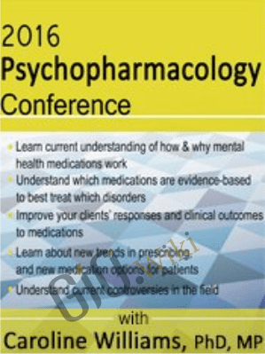 2016 Psychopharmacology Conference - Caroline B Williams
