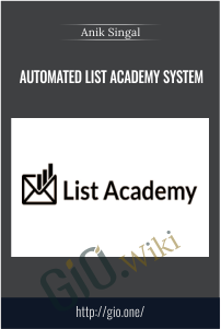 Automated List Academy System – Anik Singal