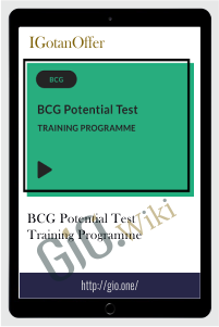 BCG Potential Test Training Programme