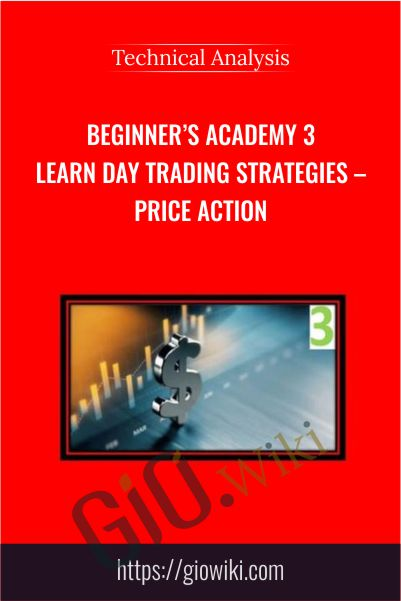 Beginner's Academy 3 Learn Day Trading Strategies – Price Action – Technical Analysis