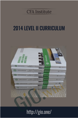 2014 Level II Curriculum – CFA Institute
